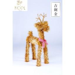 草鹿-古銅金色